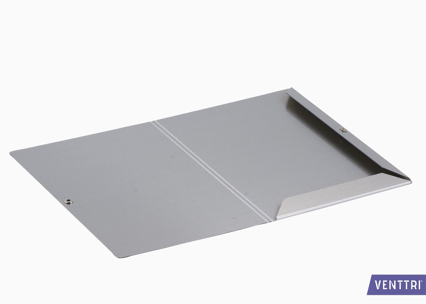 Aluminium opbergmap 2