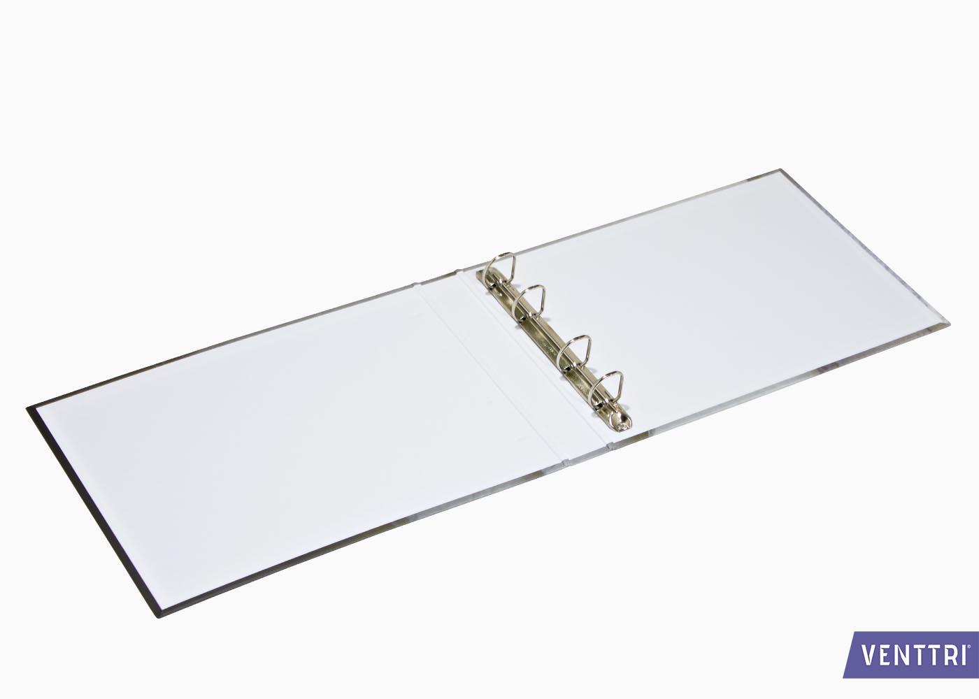 A4 Ringband oblong met papier omplakt 2