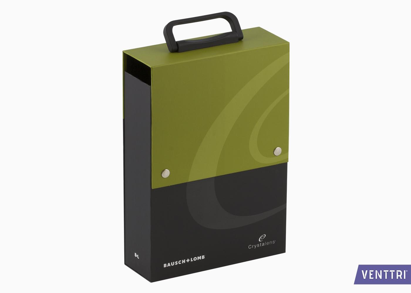 Bedrukte Koffer Met Drukknopen 1