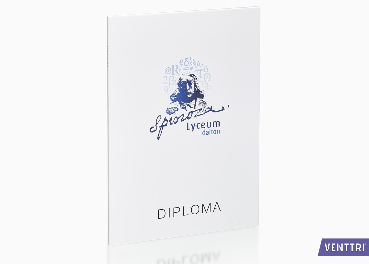 Diplomamap met mat laminaat 1