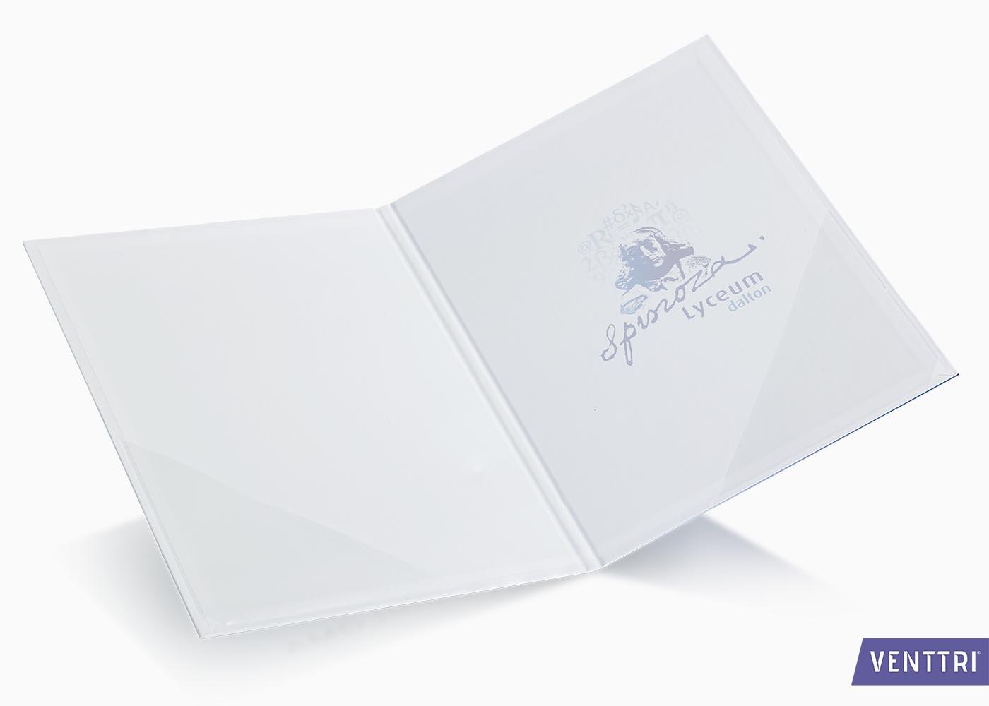 Diplomamap met mat laminaat 2