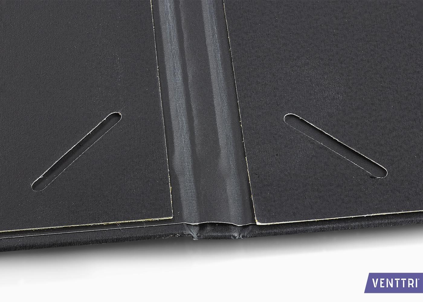 Luxe diplomamap zwart balacron 5