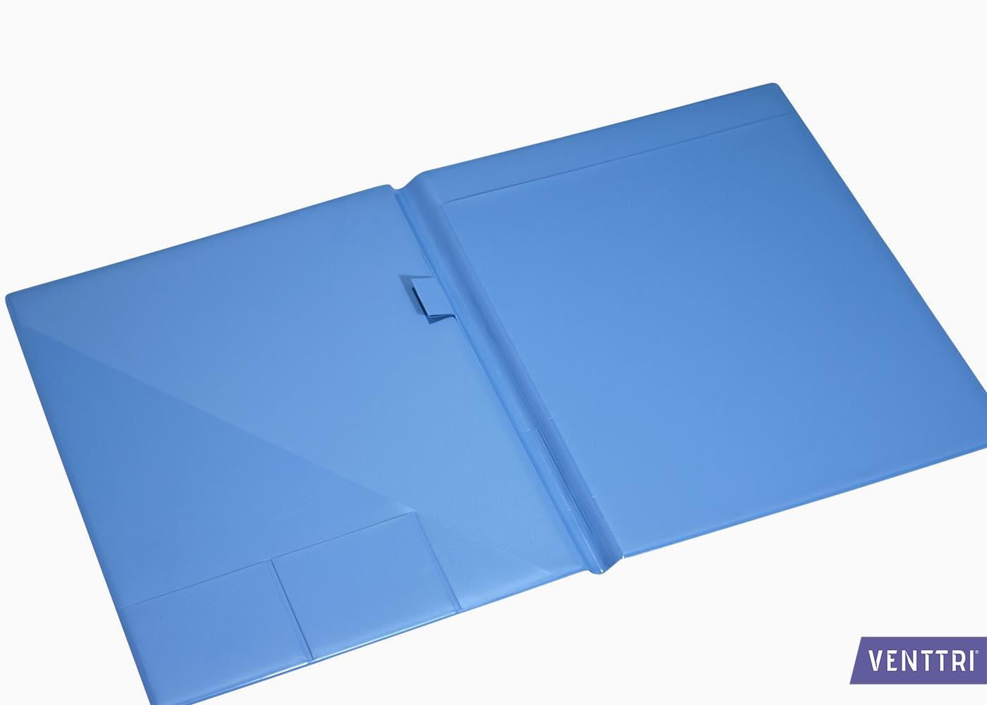 PVC Omslagmap met insteekvakken 2