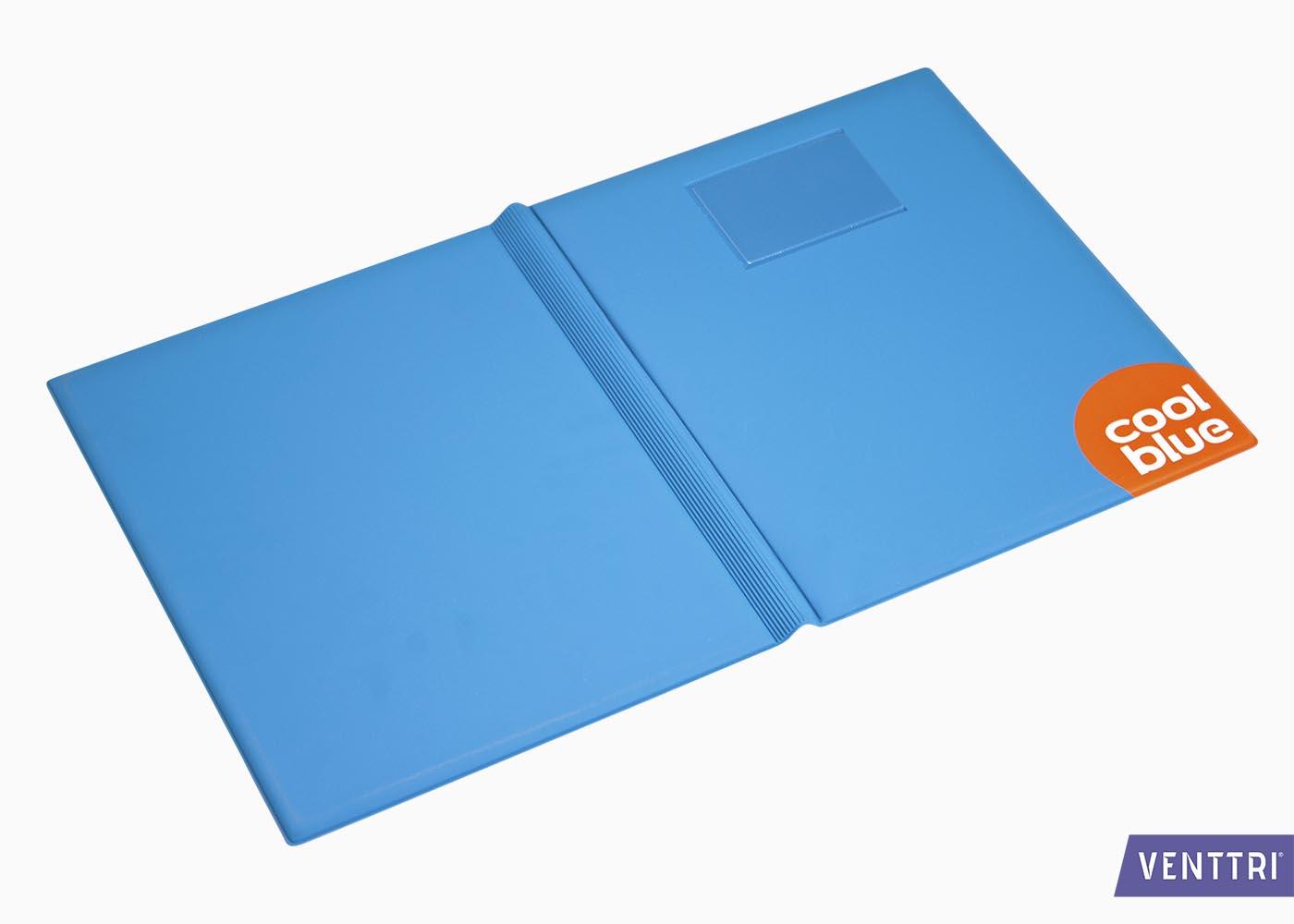 PVC Omslagmap met insteekvakken 5