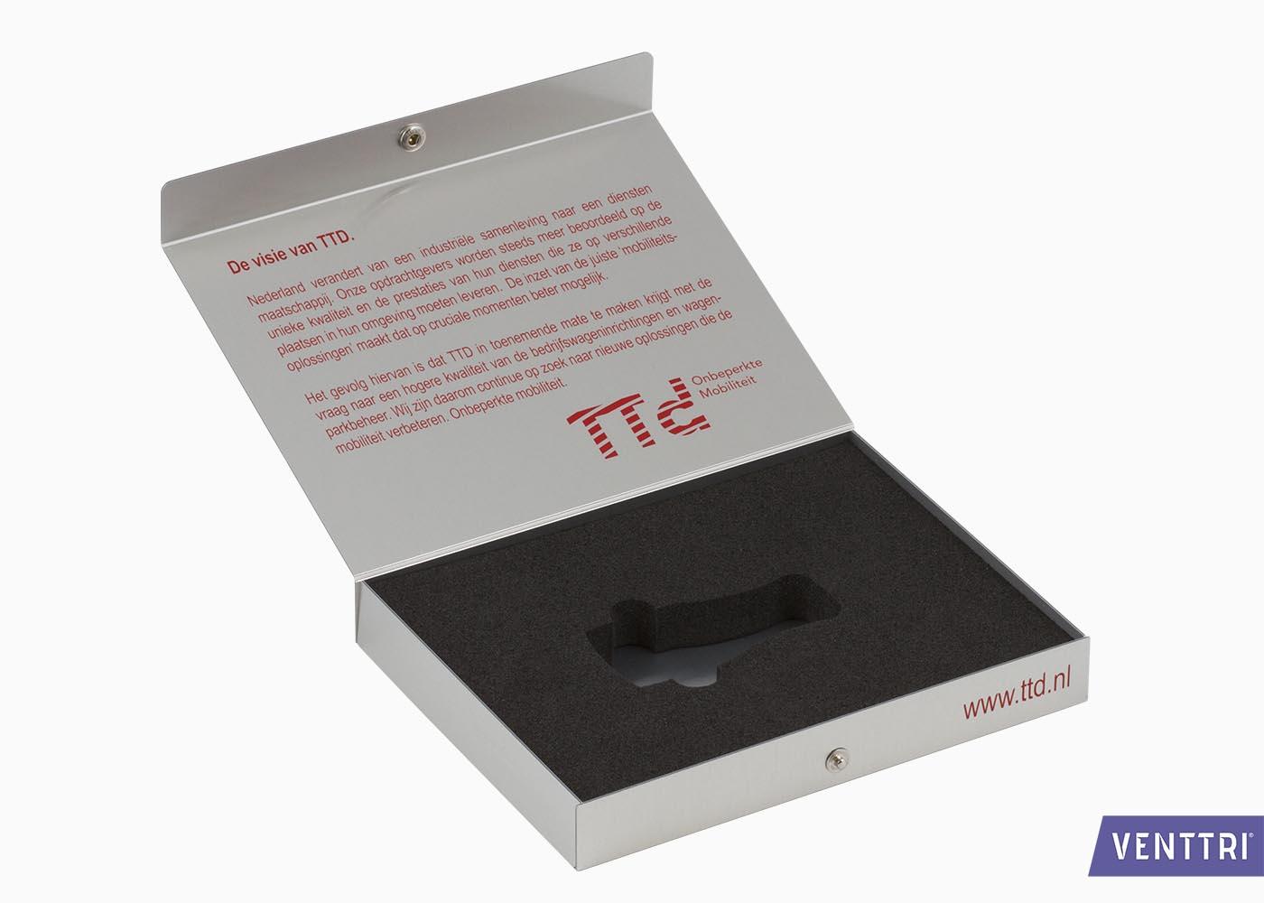 Presentatiebox aluminium