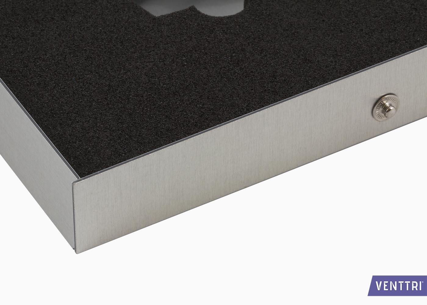Presentatiebox aluminium 4
