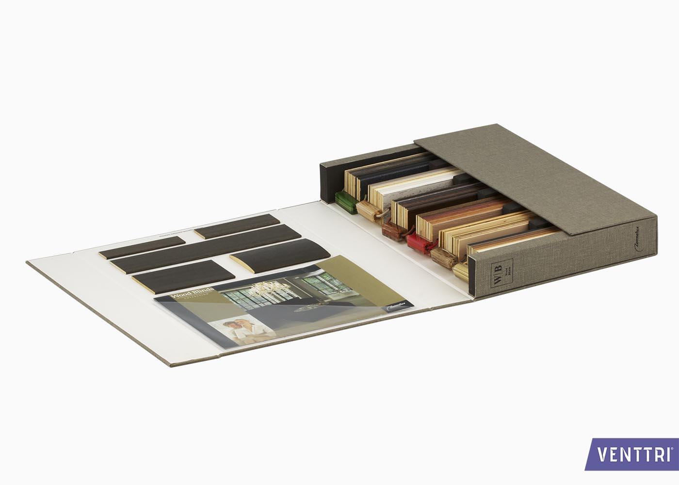 Stalenbox voor raamdecoratie 2