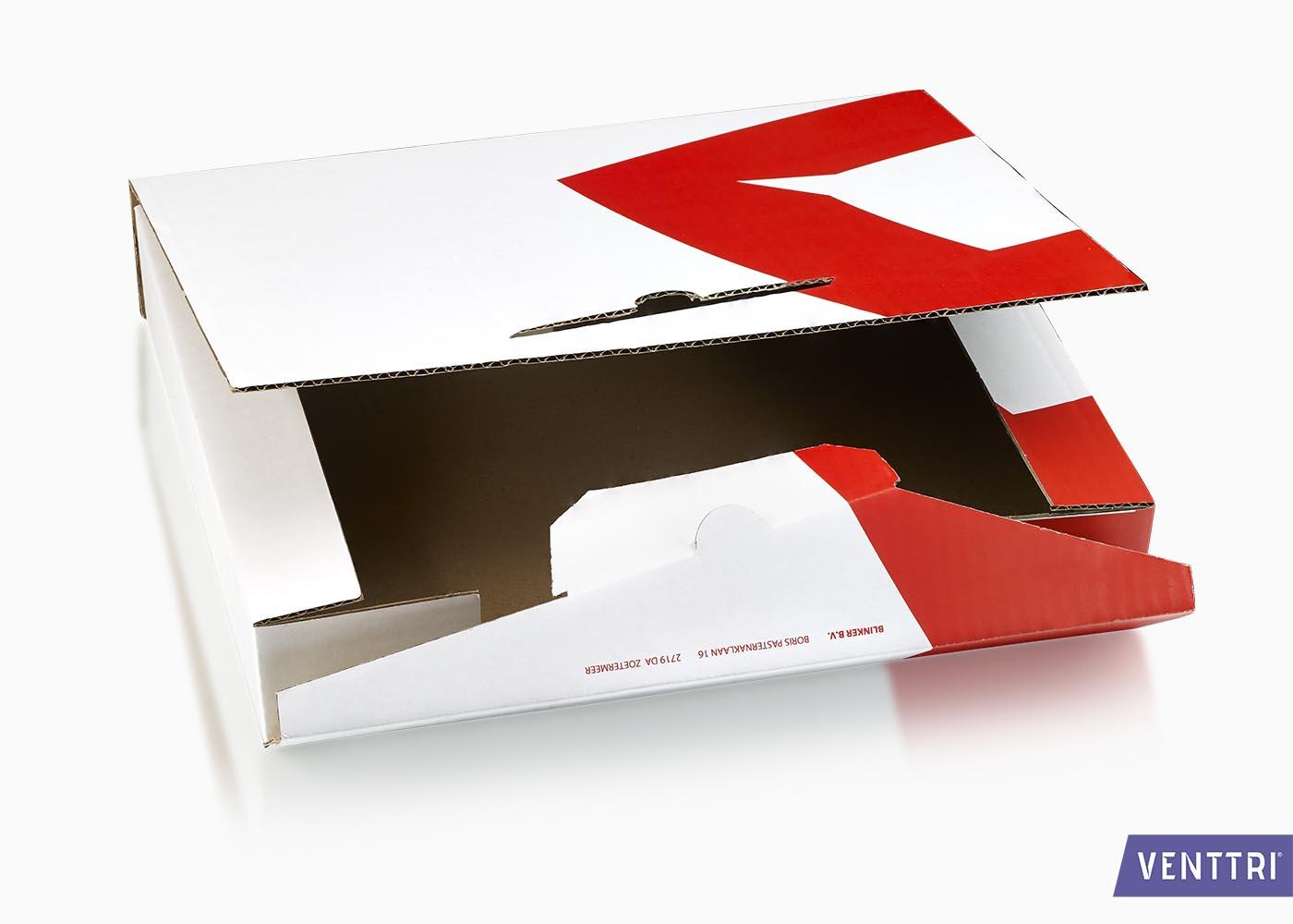 Verzendverpakking golfkarton