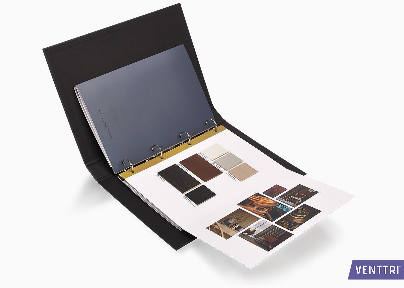 luxe presentatiebox met leren draagband 5