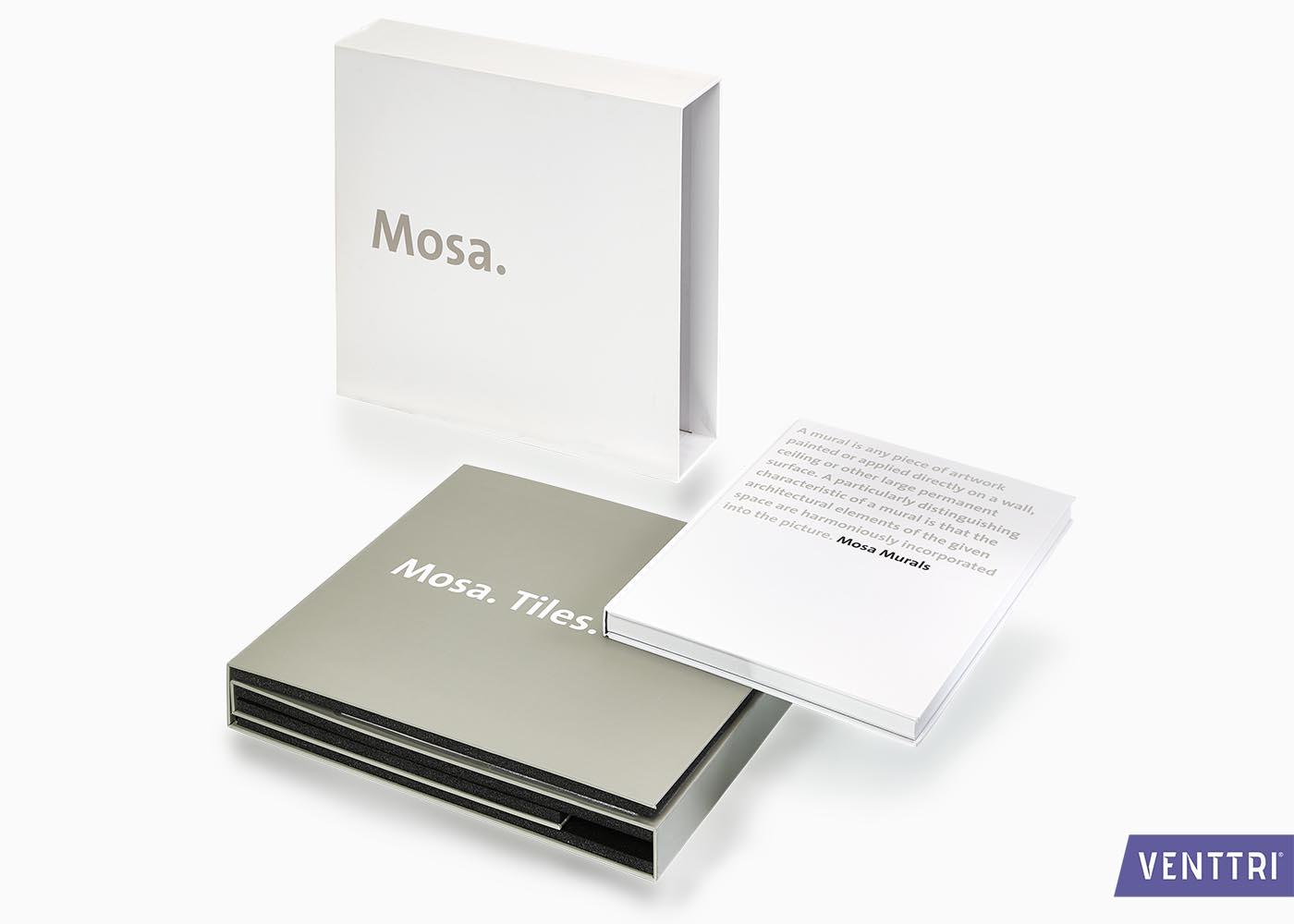 Foedraal stalenmap boek Mosa
