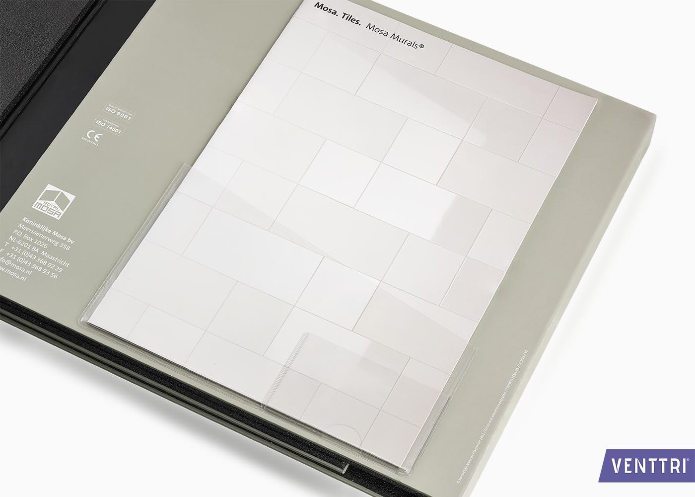Foedraal stalenmap boek 5