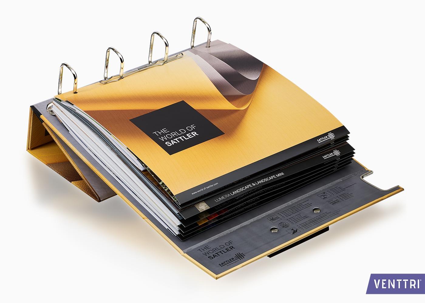 Stalenboek met staander