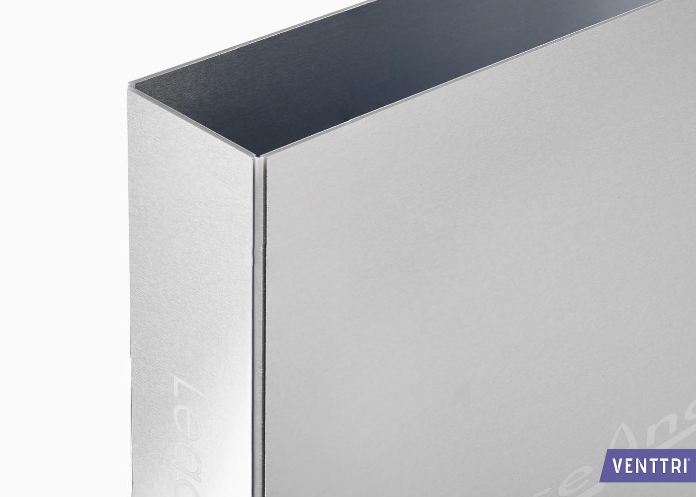 ringband aluminium met logo opdruk
