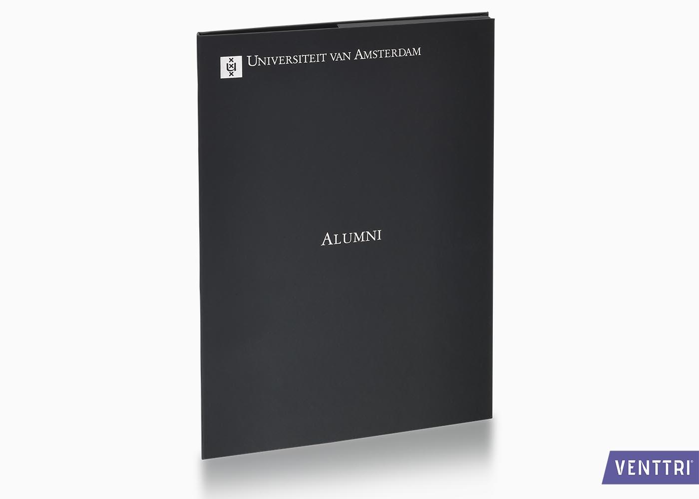 Diplomamap Met Insteken En Foliedruk